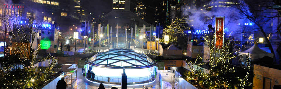 Robson Square, Vancouver, Canada