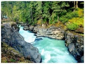 Nairn Falls, Whistler BC