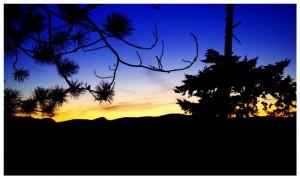 Hosreshoe Bay Sunset