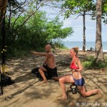 Beach Workouts in Tamarindo