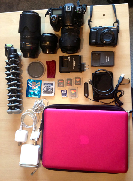 What's In My Travel Gear Bag