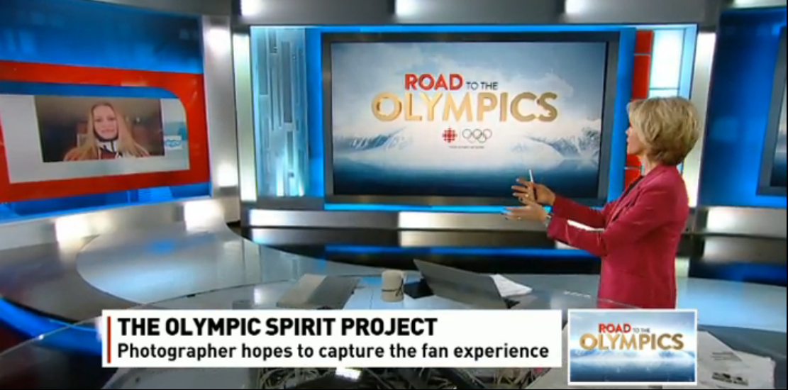 The Olympic Spirit Project on CBC