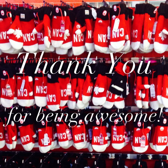 Thank You for being awesome!