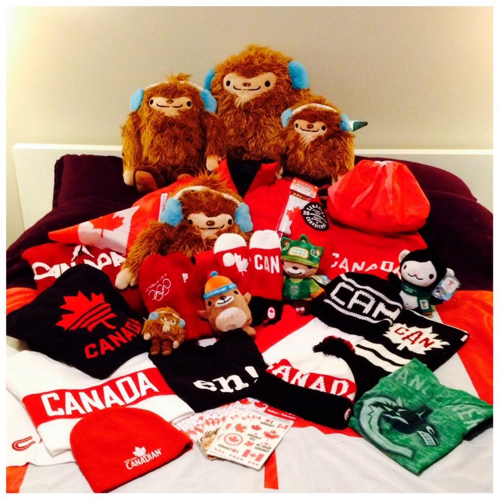 My Sochi 2014 Canada Gear