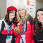 Olympic Athletes: Dara Howell, Jenna Blasman and Taylor Henrich
