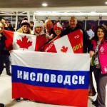 Russian and Canadian fans.