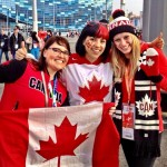 Canadian beauties at Sochi 2014