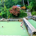 Air Panas hot springs in Bali, Indonedia