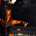 Balinese Dancer at the Kecak Dance