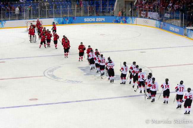 Women's Hockey - CAN vs SWI