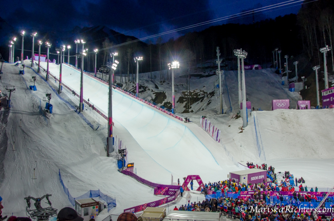 Olympics 2014 - Ladies Ski Cross