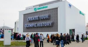 Sochi 2014 - MegaFon Pinart Jumbotron