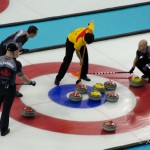 Men's Curling Semifinal - Canada vs China