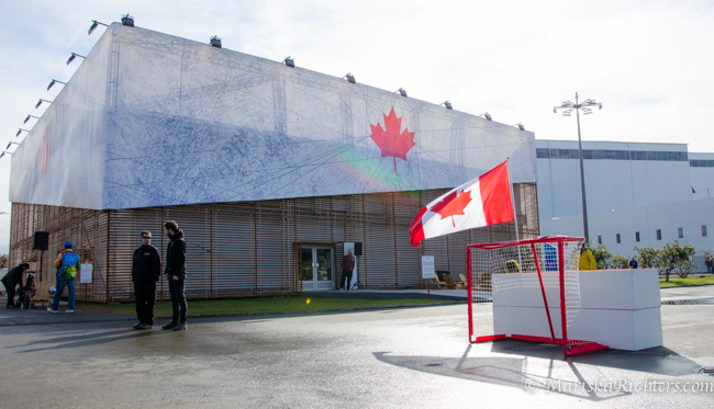 Street Hockey at Canada Olympic House 2014