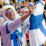 Finnish Fans - 2014 Olympics
