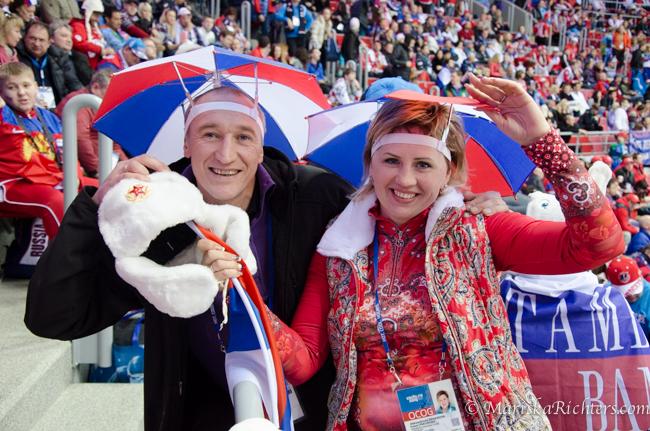 Russian fans - 2014 Olympics