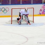 Canadian goalie at Sochi 2014.