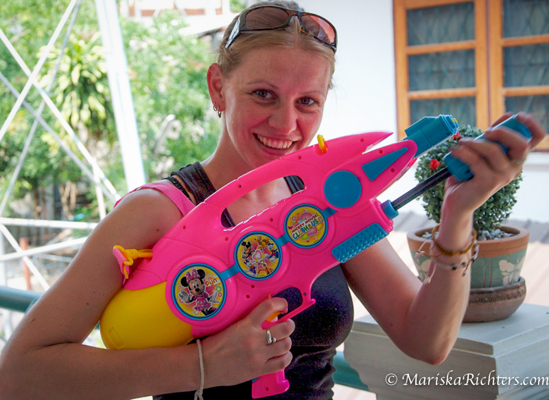 Mariska Songkran Weapon