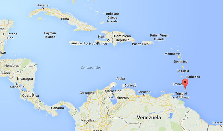 Tobago on Google Maps