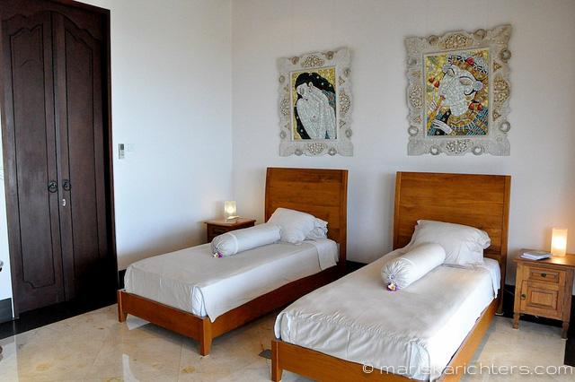 Villa Kembang Kertas Bali - Twin Bedroom