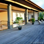 Villa Kembang Kertas Bali - Main house, upper deck