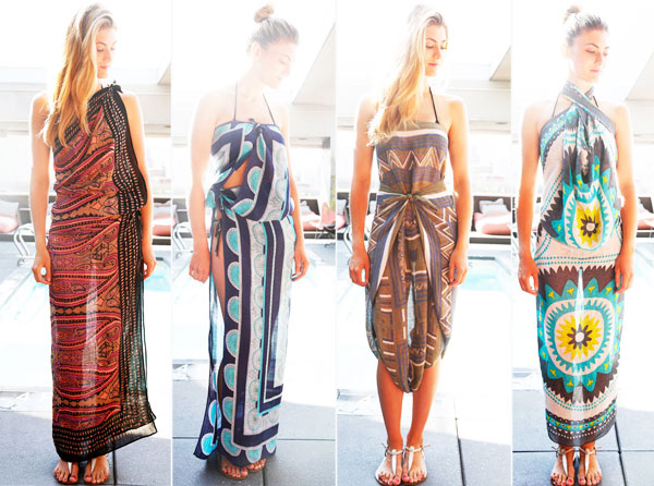 How to wear a sarong