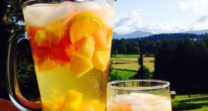 Pitcher of White Sangria
