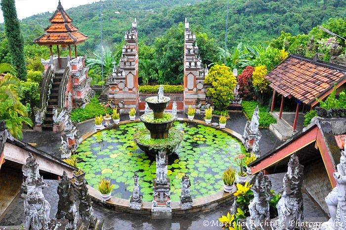 Buddhist Temple in Banjar, Bali