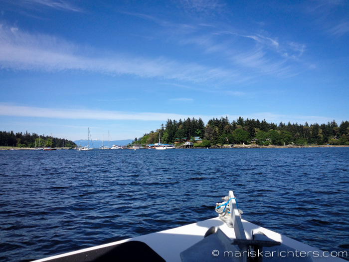 Boat Ride to Protection Island