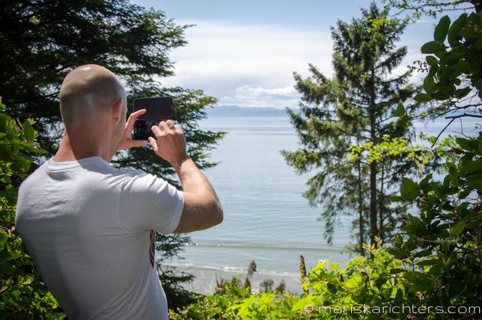 Views along the trail to Sandcut Beach