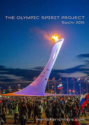 Postcard: The Sochi 2014 Olympic Cauldron