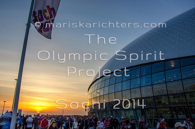 Bolshoy Arena Sunset, Sochi 2014 - Print