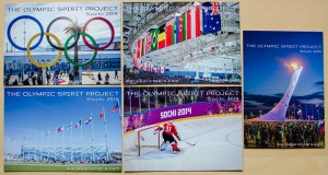 Olympic Spirit Project Postcard Pack