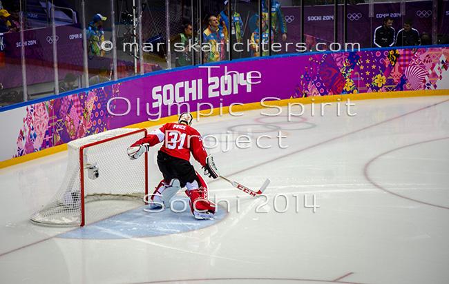 Carey Price at Sochi 2014 - Print
