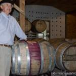 Cherry Point Vineyard - Oak Barrels