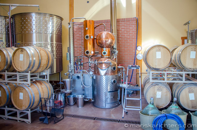 Merridale Cidery - the Distillery