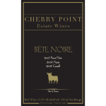 Cherry Point Wines - bette_front
