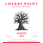 Cherry Point Wines - forte_2009_front
