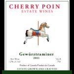 Cherry Point Wines - gewurz_2011_front