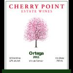 Cherry Point Wines - ortega_2011_front