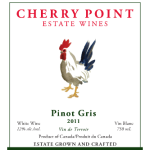 Cherry Point Wines - pinot_gris_2011_front