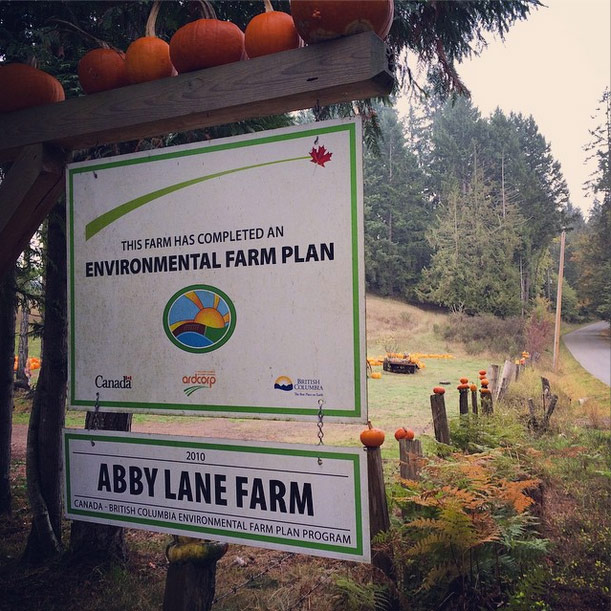 Abby Lane Farm - Sign