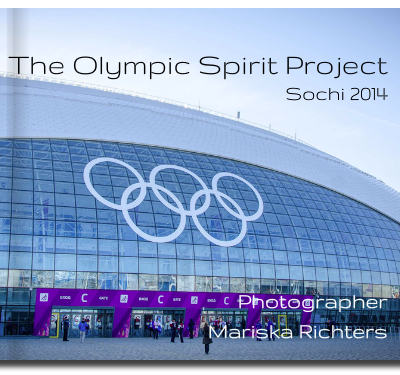 Olympic Spirit Project - book cover