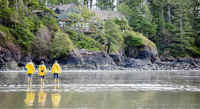 Beach Walk at Middle Beach Lodge Tofino
