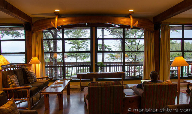 Middle Beach Lodge Lounge View - Tofino