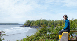 The View from Middle Beach Lodge Tofino