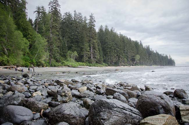 China Beach on Vancouver Island