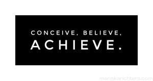 conceive-believe-achieve