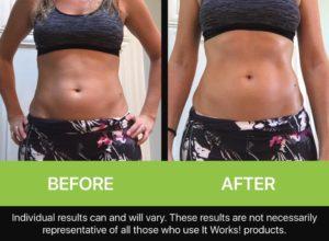It Works Wraps - Mariska's Results