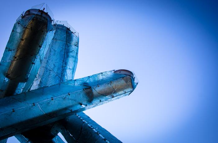 The 2010 Winter Olympic Cauldron - © 2013 Mariska Richters Photography